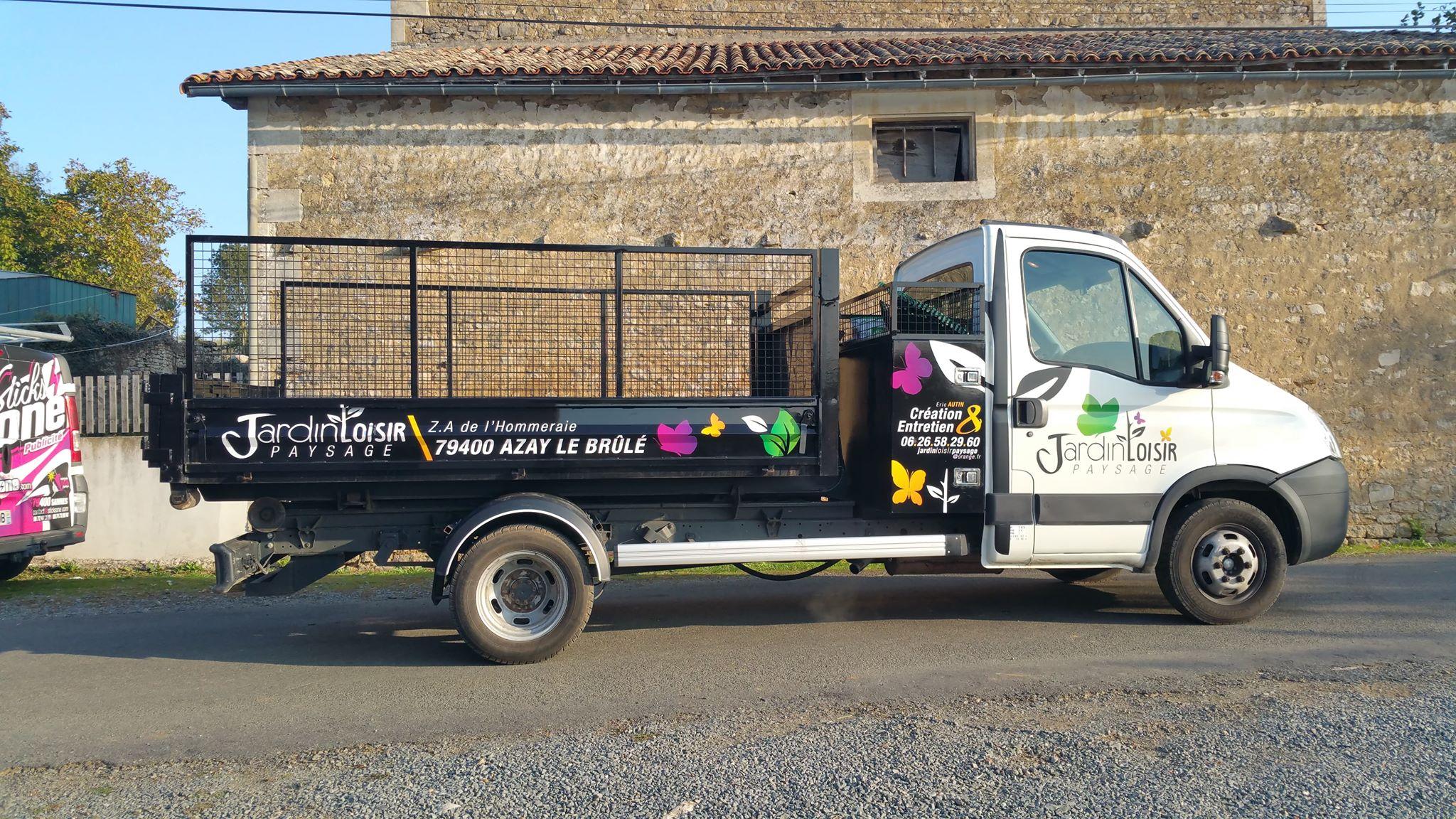 Jardin Loisirs PAYSAGES - Sticksone Publicité